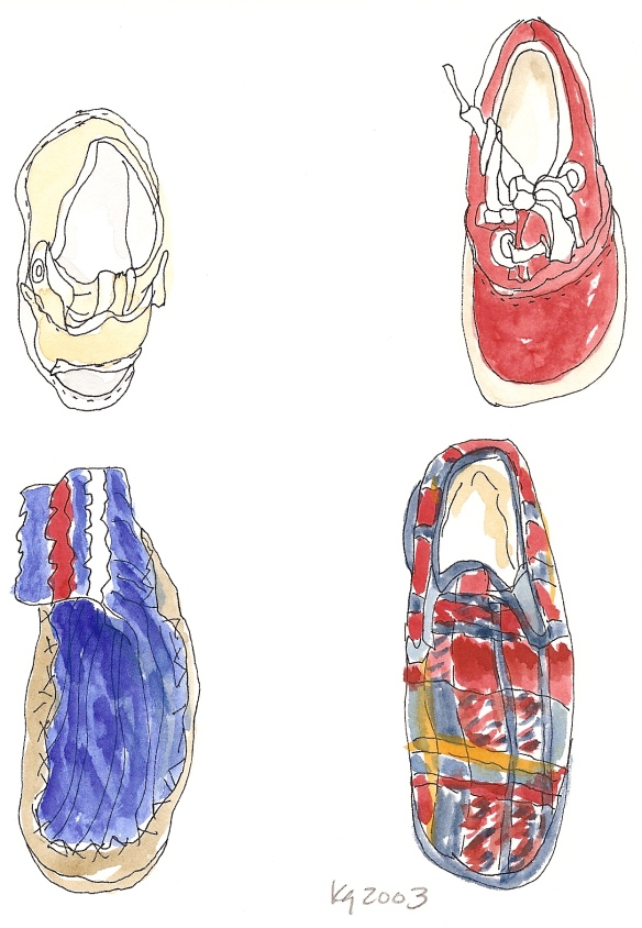 Shoes ©Katy Gilmore 2010