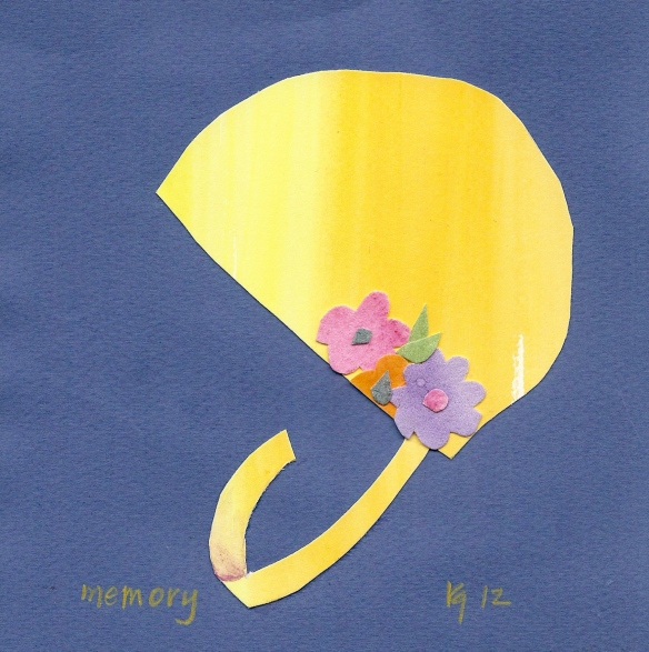 bathing cap memory ©Katy Gilmore 2012