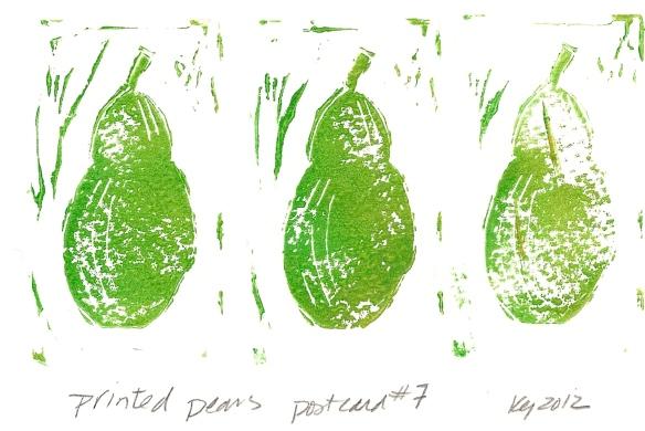 Printed Pears