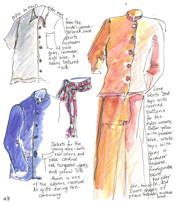 Thai wedding clothes I-1
