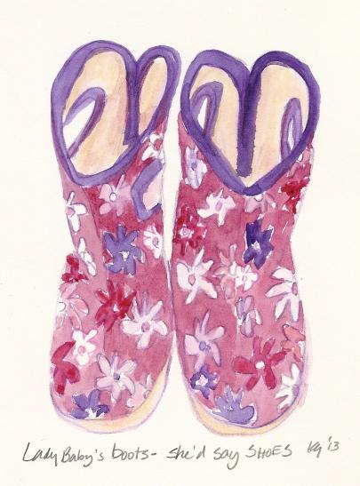 Shoes - LB boots