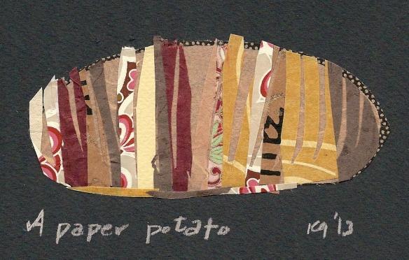 Paper potato