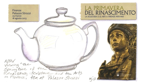 Tea at Palazzo Strozzi