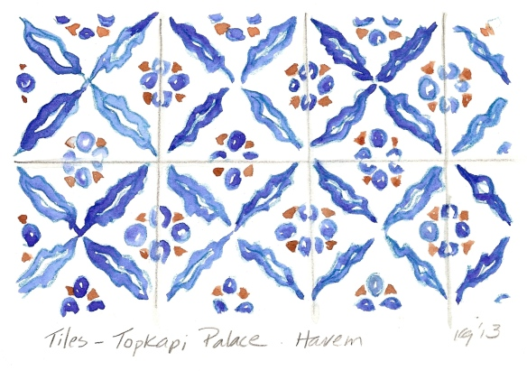Tiles - Topkapi Palace Harem
