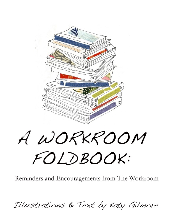 Workroom foldbook cover