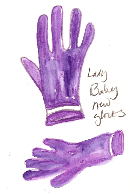 Lady Baby Gloves