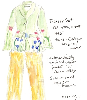 V&A 11:1 Trouser Suit