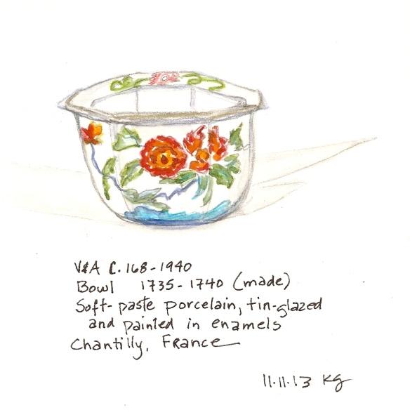 V&A 11:11 Bowl (Chantilly)
