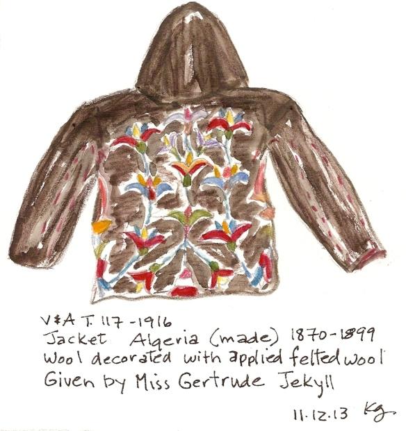 V&A 11:12 G Jekyll Jacket