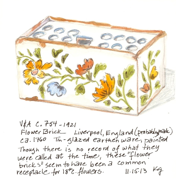 V&A 11:15:13 Flower Brick