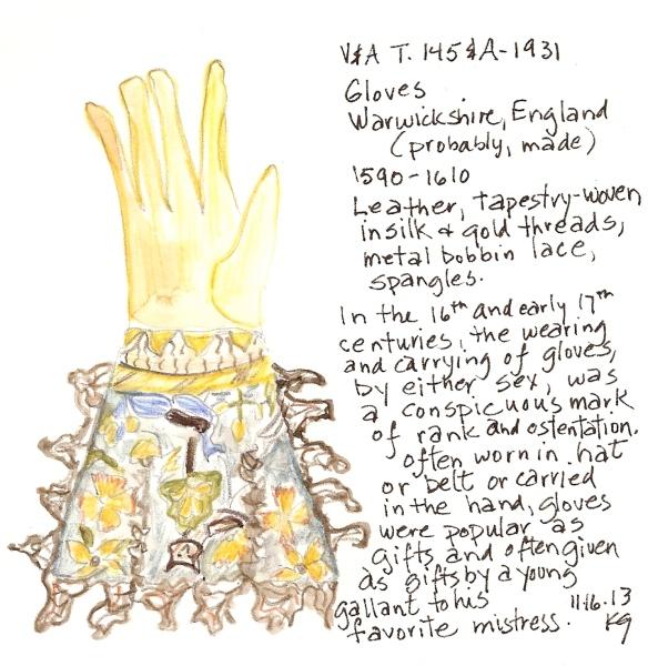 V&A 11:16:13 Glove
