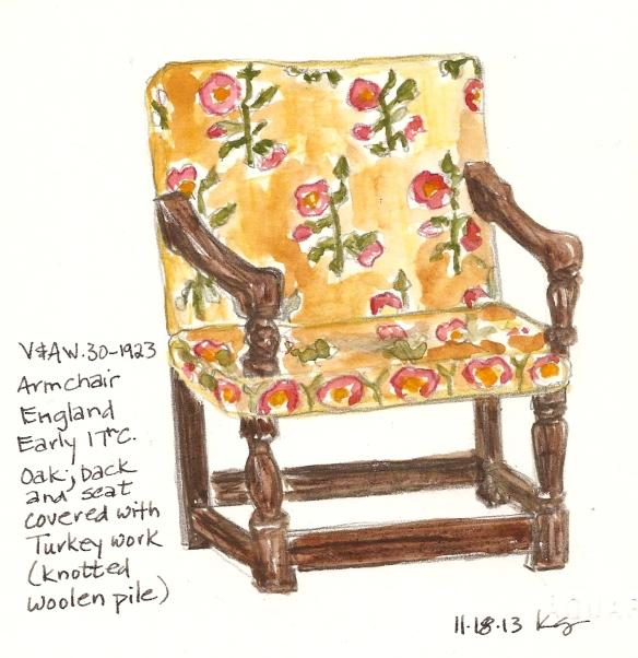 V&A 11:18:13 Chair