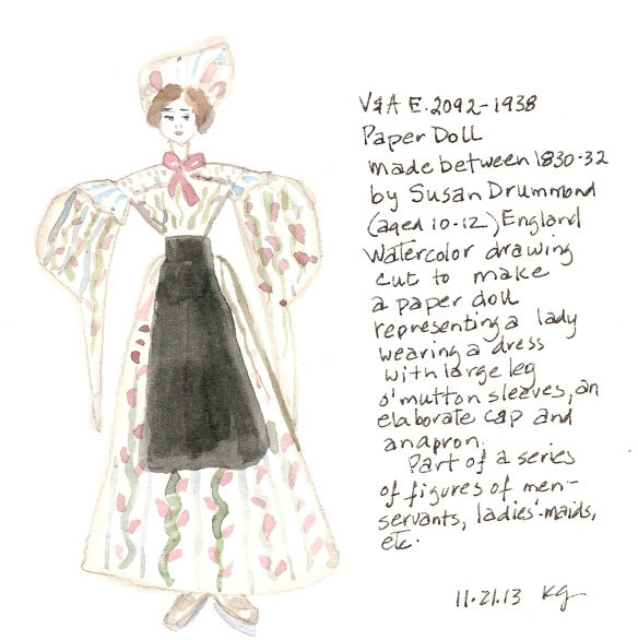 V&A 11:21:13 Paper Doll