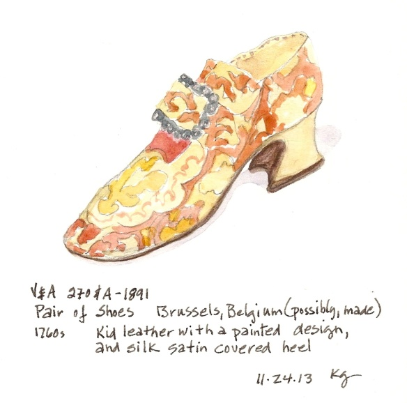 V&A 11:24:Pair of Shoes