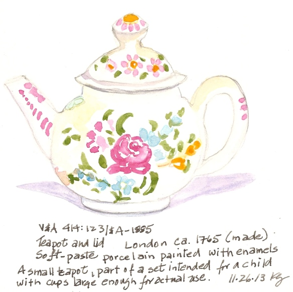 V&A 11:26:Teapot and Lid