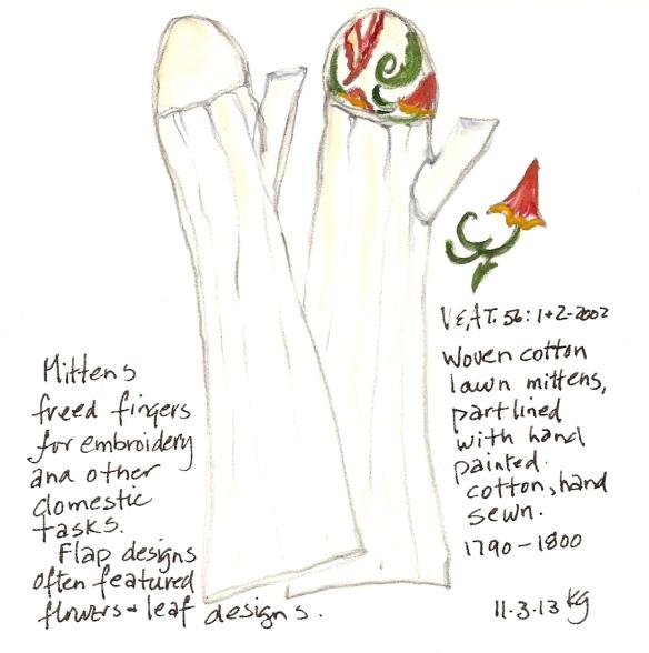 V&A 11:3 Mittens