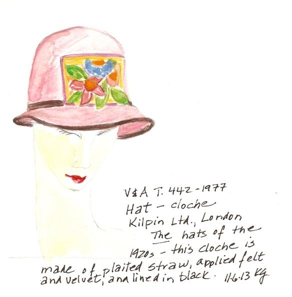 V&A 11:6 Hat