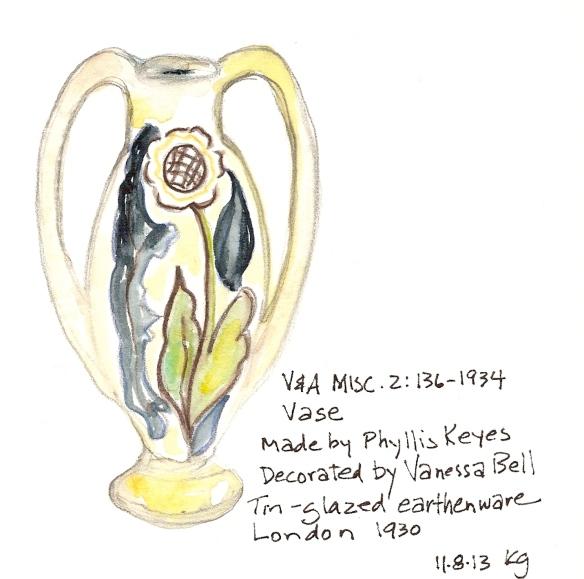 V&A 11:8 VB vase