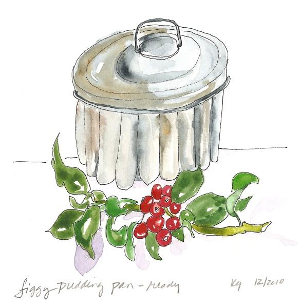 Figgy pudding pan