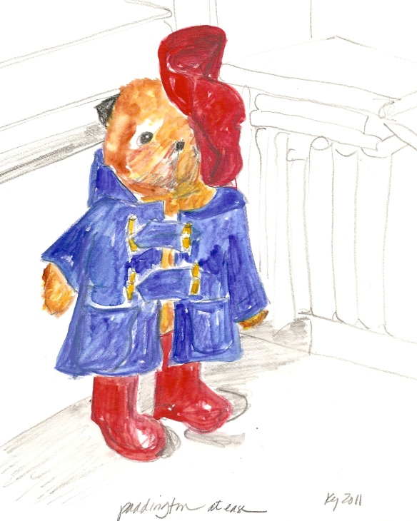 Paddington at ease