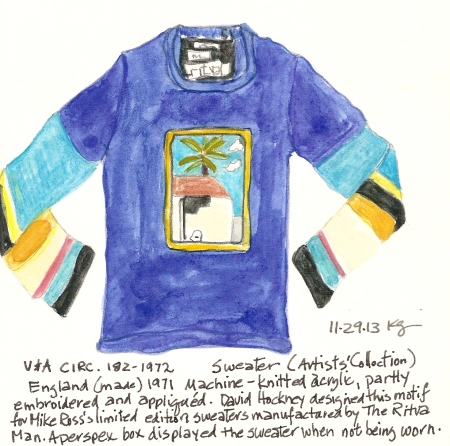 V&A 11:29 Hockney sweater