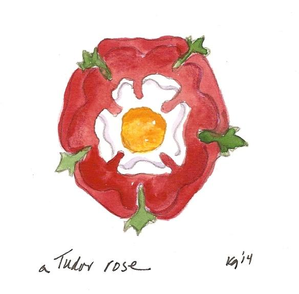 a Tudor rose-1