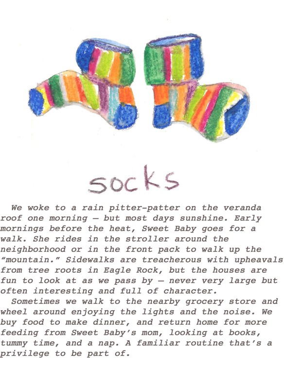 socks with text