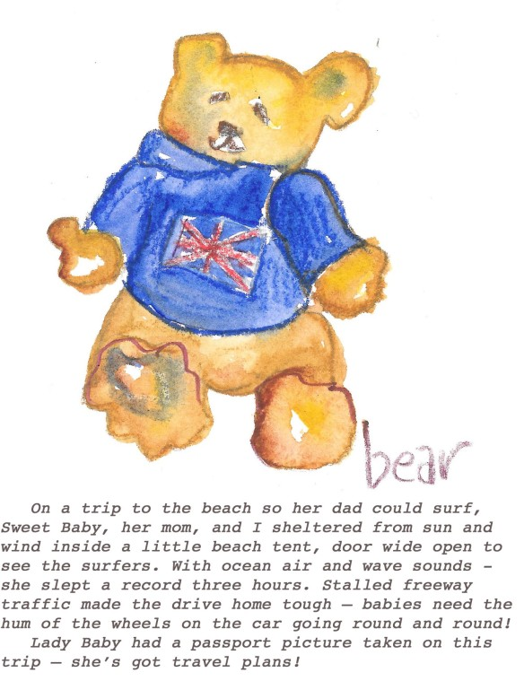 Bear with text
