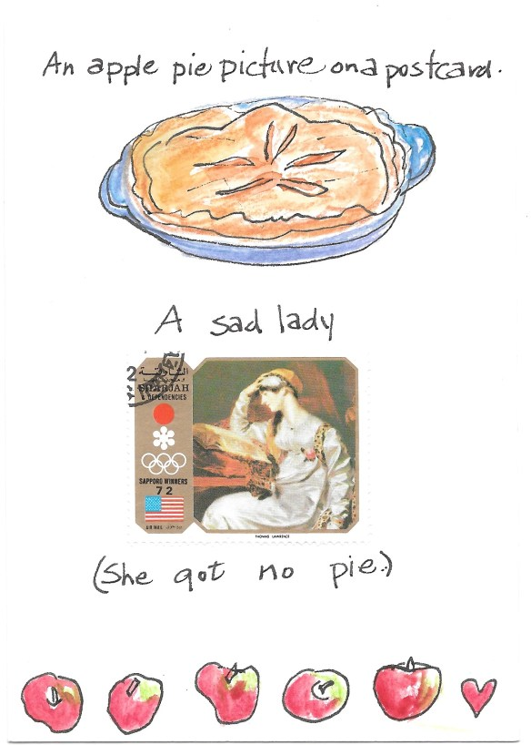 apple pie postcard 1
