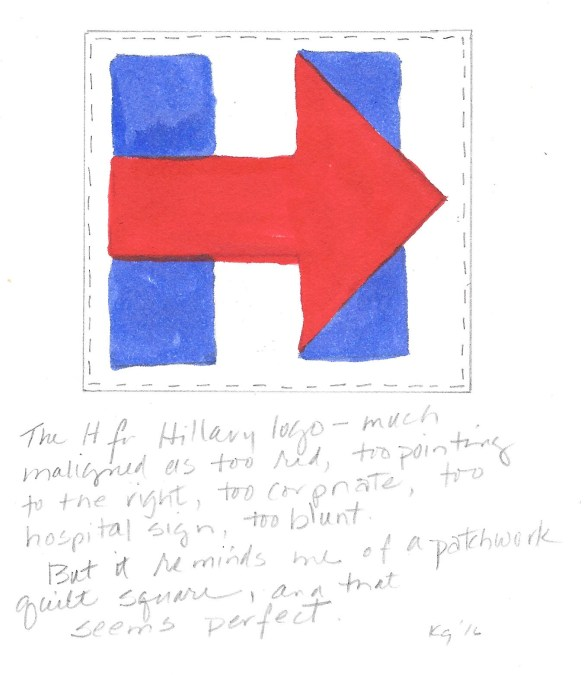 H for Hillary